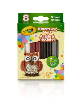 Crayola Modeling Clay: Neutral Color Assortment - 8 count
