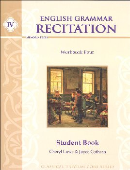 English Grammar Recitation Workbook IV Student Book