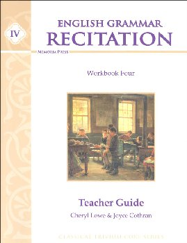 English Grammar Recitation Workbook IV Teacher Guide