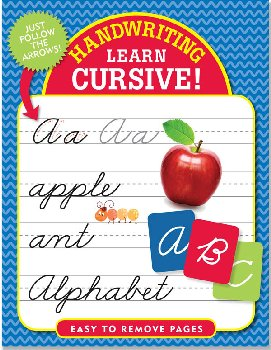Handwriting: Learn Cursive! Book