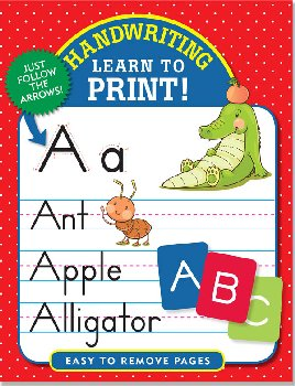 Handwriting: Learn to Print! Book