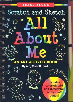 All About Me Scratch and Sketch Activity Book