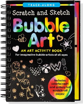 Bubble Art Trace-Along Scratch and Sketch Activity Book