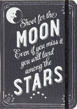 Shoot for the Moon Journal (Black Rock Jrnl)