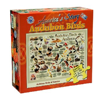 Audubon Birds of America Puzzle - 550 pieces