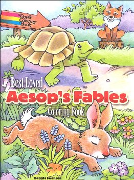 Best-Loved Aesop's Fables Coloring Book
