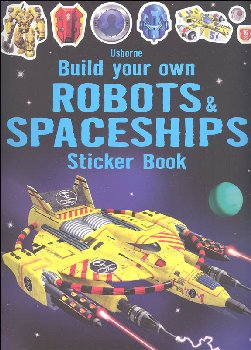 Build Your Own Robots & Spaceships Sticker Book