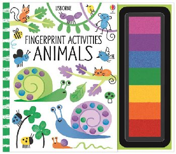 Fingerprint Activities - Animals (Usborne)