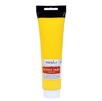 Chrome Yellow Handy Art Medium Body Acrylic Paint (5 oz. Tube)
