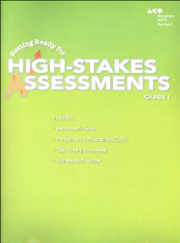 Go Math! Getting Ready for High Stakes Assessments Student Edition Grade 1