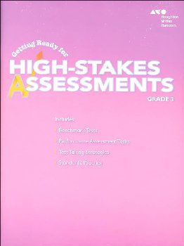 Go Math! Getting Ready for High Stakes Assessments Student Edition Grade 3