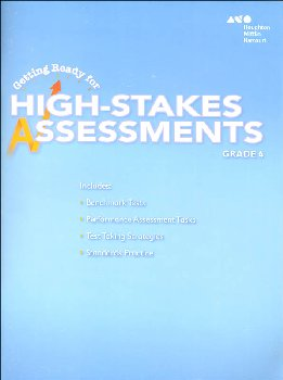 Go Math! Getting Ready for High Stakes Assessments Student Edition Grade 4