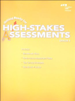 Go Math! Getting Ready for High Stakes Assessments Student Edition Grade 5