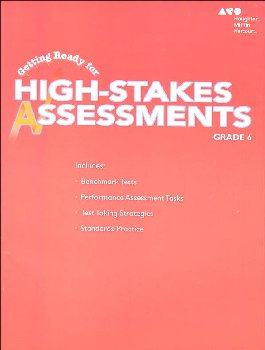 Go Math! Getting Ready for High Stakes Assessments Student Edition Grade 6