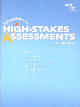 Go Math! Getting Ready for High Stakes Assessments Student Edition Grade K