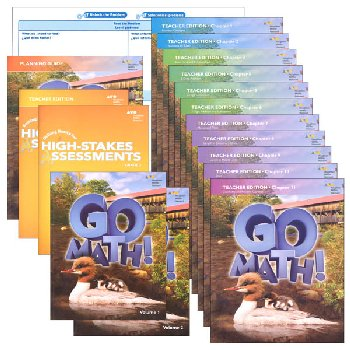 Go Math! National Homeschool Package Grade 2