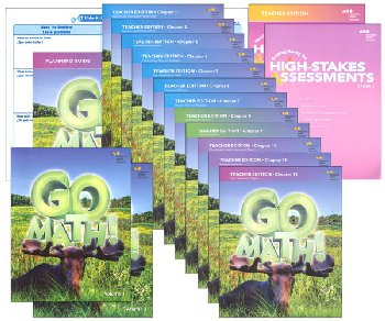 Go Math! National Homeschool Package Grade 3