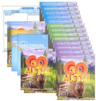 Go Math! National Homeschool Package Grade 4