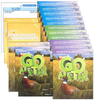 Go Math! National Homeschool Package Grade 5