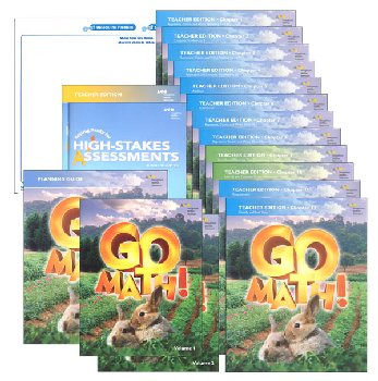 Go Math! National Homeschool Package Grade K