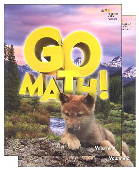 Go Math! Student Set 2016 Grade 1
