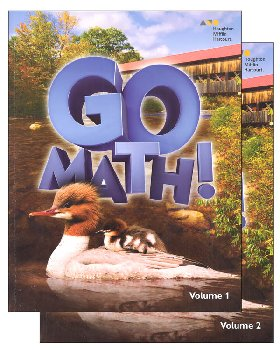 Go Math! Student Set 2016 Grade 2