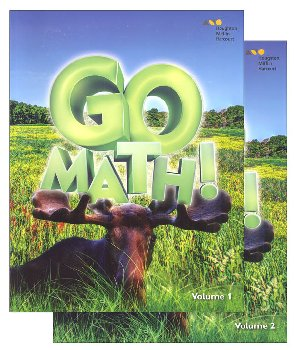 Go Math! Student Set 2016 Grade 3