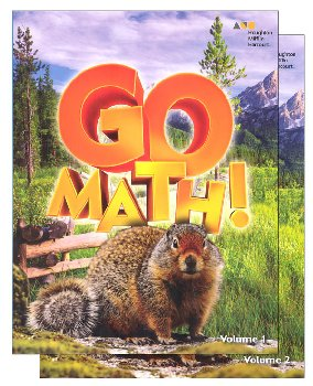Go Math! Student Set 2016 Grade 4