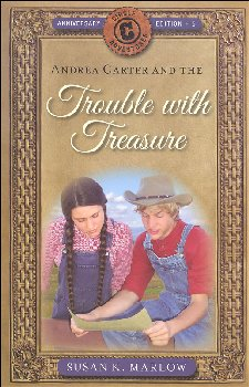 Trouble with Treasure Book 5 (Circle C Adv)