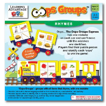 Oops Groups Rhymes Game