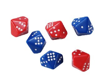 Subitizing Dice Set of 6