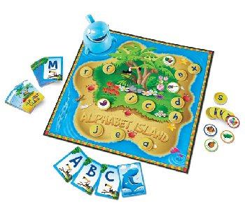 Alphabet Island: A Letters & Sound Game