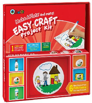 Make A Plate and more! Easy Craft Project Kit