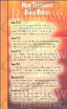New Testament Bible Verses Mind & Heart Memory Cards (Package of 12)
