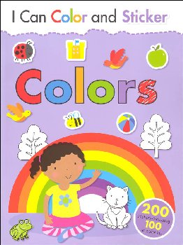 I Can Color and Sticker: Colors