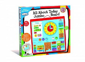 All About Today Jumbo Board (Small World Toys)