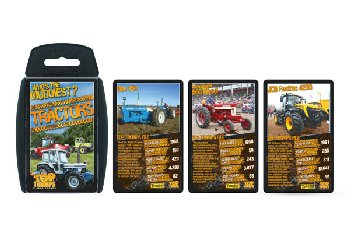 Top Trumps Card Game - 30 Best Tractors