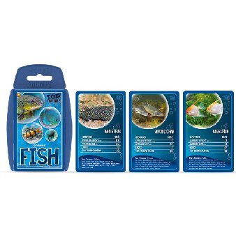 Top Trumps Card Game - Fish