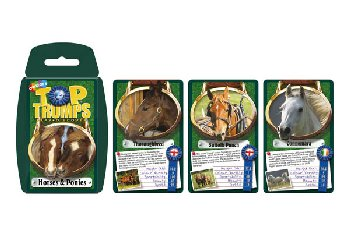 Top Trumps Card Game - Horses & Ponies