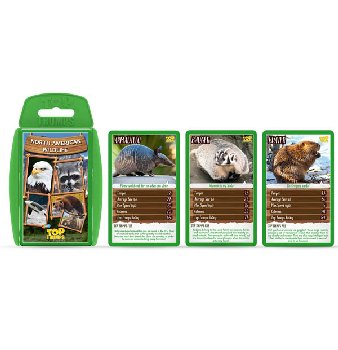 Top Trumps Card Game - North American Wildlife