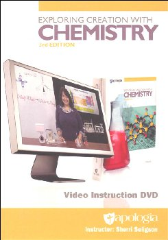 Exploring Creation with Chemistry Video Instructional DVD 3rd Edition