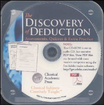 Discovery of Deduction Assessments, Quizzes & Extra Practice on CD