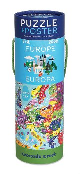 Europe Poster Puzzle (200 pieces)