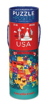 USA Poster Puzzle (200 pieces)