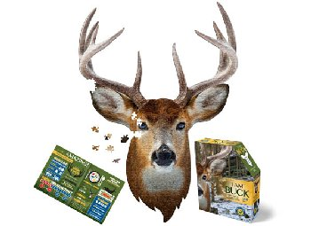 I AM Buck Shaped Jigsaw Puzzle - 550 pieces