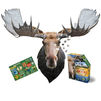 I AM Moose Shaped Jigsaw Puzzle - 700 pieces