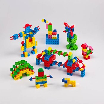 Brick Construction Set - 550 pieces