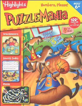 Puzzlemania: Numbers, Please!