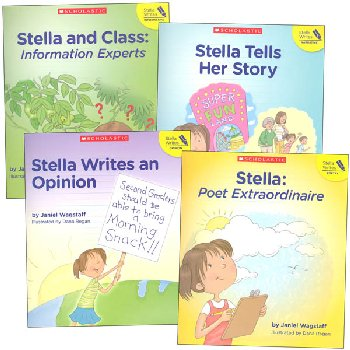 Stella Writes 4-Book Set (Stella Writes)