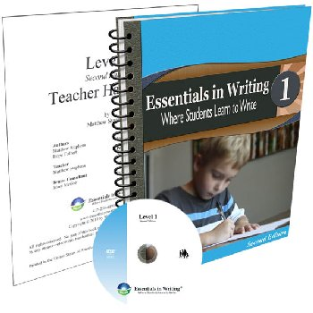 Essentials in Writing Level 1 Combo (DVD, Textbook/Workbook and Teacher Handbook) 2nd Edition